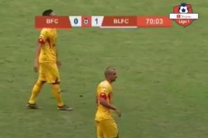 Gol 'Mantul' Hariyanto, Badak Curi 3 Poin dari Bhayangkara FC