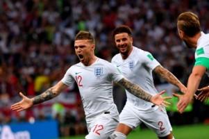 Gol Tendangan Bebas Kieran Trippier Cetak Sejarah Bagi Inggris