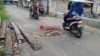Gorong-gorong Dermaga Bom Kalianda Amblas, Warga Minta Perbaikan