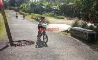Gorong-gorong Dusun Pematangbinjai Ambrol