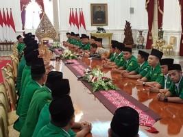 GP Ansor Bahas Kondisi Indonesia dengan Presiden
