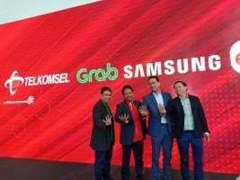 Grab Gandeng Samsung, Telkomsel, dan Erafone Lncurkan Program Buat Mitra