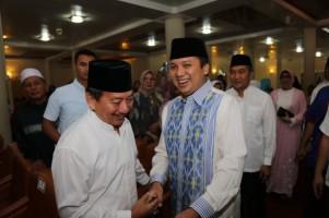 Gubernur dan Wali Kota Bandar Lampung Buka Puasa Bersama