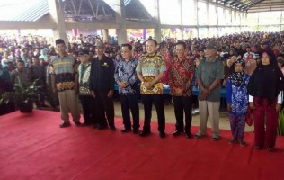 Gubernur Janji Jalan Provinsi di Mesuji Tuntas Diperbaiki Tahun Ini