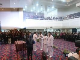 Gubernur Lampung Lantik Bupati Tanggamus dan Bupati Lampung Tengah
