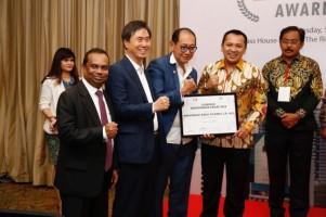 Gubernur Lampung Raih INA Entrepreneur Award 2018