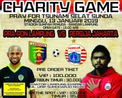 Gubernur Lampung Sambut Baik Event Charity Game Pray For Lampung