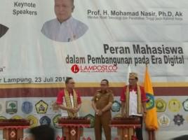Gubernur Lampung Sampaikan Tiga Pesan Kepada Peserta KKN Kebangsaan 2018