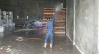 Gudang Logistik KPU di Fumigasi