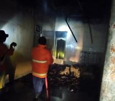 Gudang Penyimpanan Tambak Udang di Ketapang Ludes Terbakar