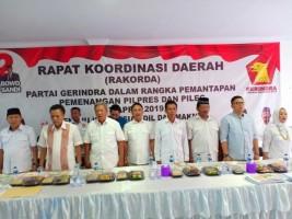 Gunadi Ibrahim Intruksikan DPC Gerindra Kerja All Out Menangkan Prabowo-Sandi