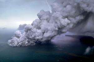 Gunung Anak Krakatau Masih Berstatus Level Siaga