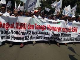 Guru Honorer Lampung Pertanyakan Insentif 2018
