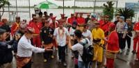 Guyuran Hujan Sambut Kombes Rudi Setiawan