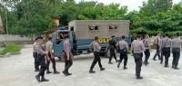 H-1 Pencoblosan, TNI dan Polri Patroli Di Tubaba