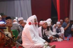 Habib Luthfi Isi Peringatan Maulid Nabi di Korem 043 Gatam