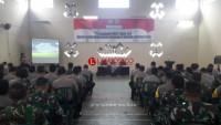 Hadapi Pemilu 2019, Polres Lampung Utara Gelar Rakor Bersama TNI