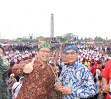 Hadiri Festival Rampak Genteng, Timses Jokowi Amin serukan Jaga Kualitas Lingkungan Hidup