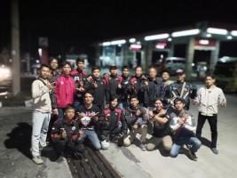 Hadiri Jambore di Lampung, Ribuan Yamaha RX King dari Jawa Padati Jalinpantim
