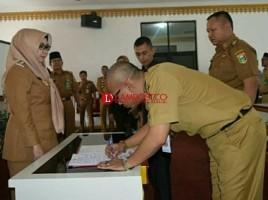 Hamid Heriansyah Jabat Plt Sekda Tanggamus