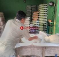 Harga Beras Stabil di Lampung Utara