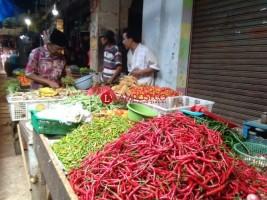 Harga Cabai di Bandar Lampung Melejit Hingga Rp60 Ribu per Kilo