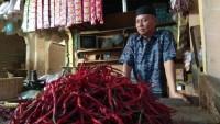 Harga Cabai di Pasar Bandar Lampung Tembus Rp120 ribu Per Kilo