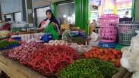 Harga Cabai Merah di Lamsel Turun Jadi Rp50 Ribu Per Kilo
