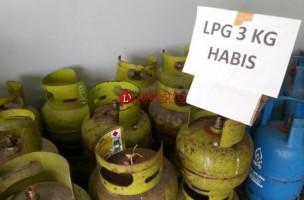 Harga Gas Elpiji 3 Kg di Lampura Melambung, Tembus Rp30 Ribu