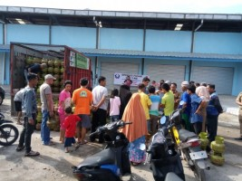 Harga Gas Subsidi di Pesisir Barat Masih Tinggi