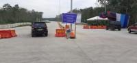 Hari Ini Pintu Tol Simpang Pematang-Palembang Ditutup