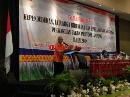 Hari Kedua Telaah KKBPK, BKKBN Lampung Kupas Program Kerja