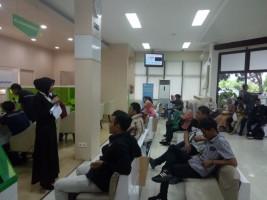 Hari Libur, BPJSTK Tetap Buka Kantor Layani Klaim Ratusan Pekerja Eks PT Hanjung