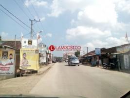 Hari Pencoblosan, Aktivitas Lalu Lintas di Pringsewu Lengang