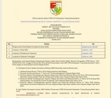 Hasil Seleksi CPNS Diumumkan Melalui Website BKD Tubaba