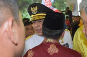 Herman HN Hadiri Penyambutan Gubernur dan Wakil GubernurBaru