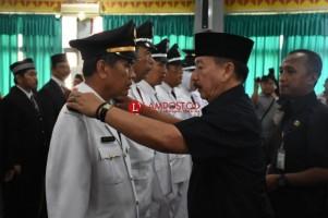 Herman HN Lantik 35 Pejabat Eselon