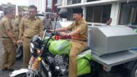 Herman HN Launching Layanan Motor Sedot WC untuk Jalan Sempit
