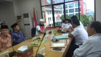 Herman HN Sambut Kunjungan Wali Kota Bengkulu