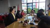 Herman HN Terima Kunjungan Wakil Konsul Jenderal Republik Rakyat Tiongkok