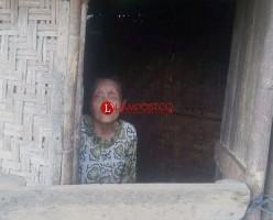 Hidup Sebatang Kara, Pemkab Lampura Bantu Nenek Tunanetra