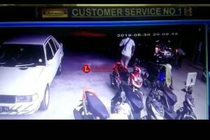 Hilang Saat Ditinggal di Dashboard Motor, Pelaku Terekam CCTV