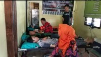 Himals dan HMI Cabang Kalianda Gelar Donor Darah