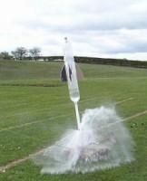 Himatro Unila Gelar Kompetisi Roket Air