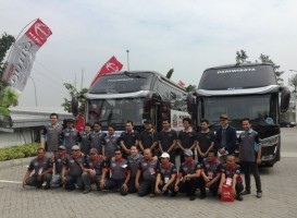 Hino Safety Driving Competition Sapa Yogyakarta