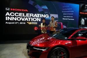 Honda Boyong Model Baru di GIIAS 2018