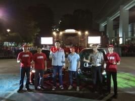 Honda Gelar Seri Pertama Brio Saturday Night Challenge