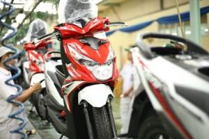 Honda Produksi 1 Skutik 5,5 Detik!