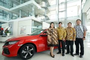 Honda Resmikan Diler Terbesar di Indonesia