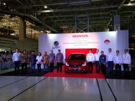 HPM Siap Ekspor All New Honda Brio